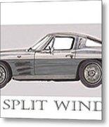 1963 Split Window Metal Print