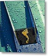 1963 Studebaker Avanti Hood Ornament Metal Print by Jill Reger