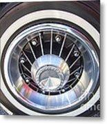 Bonneville Aluminum Rims 1964 Metal Print