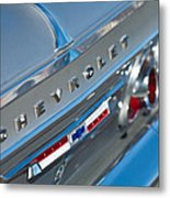 1964 Chevrolet Impala Taillights And Emblems Metal Print