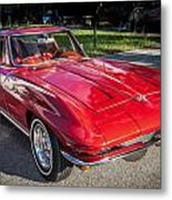 1964 Chevy Corvette Coupe  Metal Print