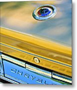 1964 Chrysler 300k Convertible Emblem -3529c Metal Print