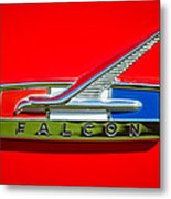 1964 Ford Falcon Emblem Metal Print