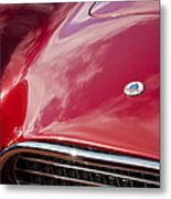 1964 Shelby 289 Cobra Grille -0840c Metal Print