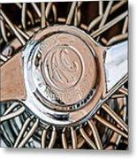 1964 Shelby 289 Cobra Wheel Emblem -0666c Metal Print