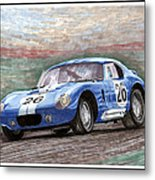 1964 Shelby Daytona Metal Print