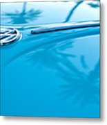 1964 Volkswagen Vw Bug Emblem Metal Print