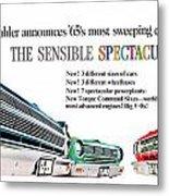 1965 - Rambler - Ambassador - American - Automobile Advertisement - Color Metal Print