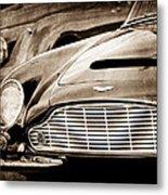 1965 Aston Martin Db6 Short Chassis Volante Grille Metal Print