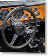 1965 Austin Healey Interior Metal Print