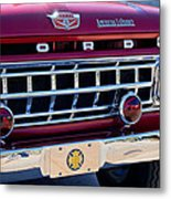 1965 Ford American Lafrance Fire Truck Metal Print