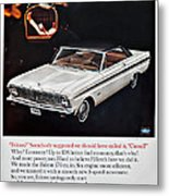 1965 Ford Falcon Ad Metal Print
