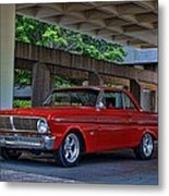 1965 Ford Falcon Metal Print