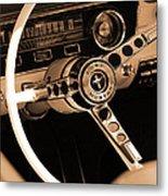 1965 Ford Mustang  Metal Print