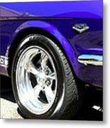 1965 Ford Mustang Gt350 Muscle Car Metal Print