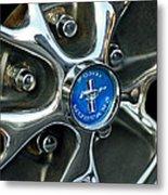 1965 Ford Mustang Wheel Rim Metal Print