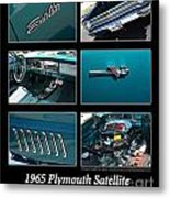 1965 Plymouth Satellite Metal Print
