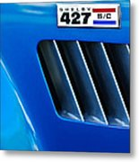 1965 Shelby Cobra 427 Emblem Metal Print
