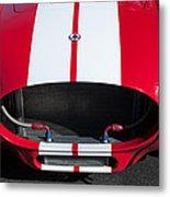 1965 Shelby Cobra Front Grille - Emblem Metal Print