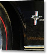1965 Shelby Prototype Ford Mustang Emblem -0248c Metal Print