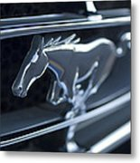 1965 Shelby Prototype Ford Mustang Grille Emblem 2 Metal Print