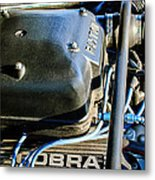 1965 Shelby Prototype Ford Mustang Paxton Engine Metal Print