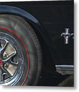 1965 Shelby Prototype Ford Mustang Wheel 2 Metal Print