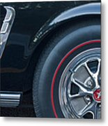 1965 Shelby Prototype Ford Mustang Wheel 3 Metal Print