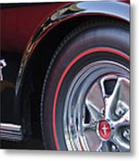 1965 Shelby Prototype Ford Mustang Wheel And Emblem Metal Print