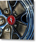 1965 Shelby Prototype Ford Mustang Wheel Metal Print