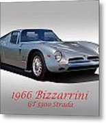 1966 Bizzarrini Gt 5300 Strada Metal Print