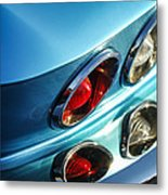 1966 Chevrolet Corvette Taillight -120c Metal Print