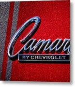 1966 Chevy Camaro Metal Print