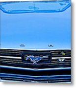 1966 Ford Mustang Front End Metal Print