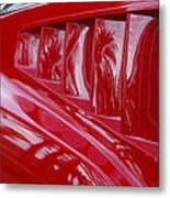 1966 Ford Mustang Gt Side Scoops -032c Metal Print