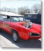 1966 Gto Monkeemobile Metal Print