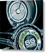 1967 Chevrolet Camaro  Ss Steering Wheel Emblem Emblem Metal Print