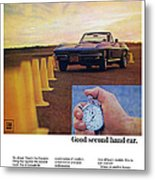 1967 Chevrolet Corvette Metal Print