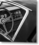 1967 Ferrari 275 Gtb-4 Berlinetta Steering Wheel Metal Print by Jill Reger