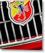 1967 Fiat Abarth 1000 Otr Emblem Metal Print
