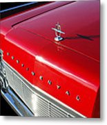 1967 Lincoln Continental Hood Ornament - Emblem -646c Metal Print