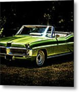 1967 Pontiac Bonneville Metal Print by motography aka Phil Clark