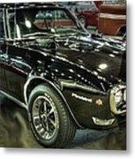 1967 Pontiac Firebird 400 Reverse Selective Color Metal Print
