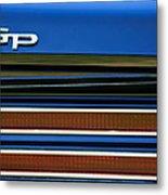 1967 Pontiac Hurst Grand Prix Convertible Taillight Emblem -3584c Metal Print