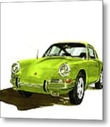 1967 Porsche 911  Metal Print