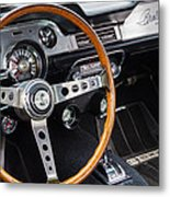 1967 Shelby Gt 350 Signed Dash Metal Print