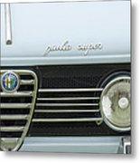 1968 Alfa Romeo Giulia Super Grille Metal Print