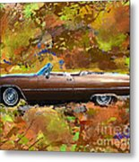 1968 Cadillac Deville Metal Print