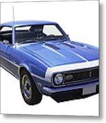 1968 Chevrolet Camaro 327 Muscle Car Metal Print