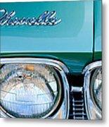 1968 Chevrolet Chevelle Headlight Metal Print